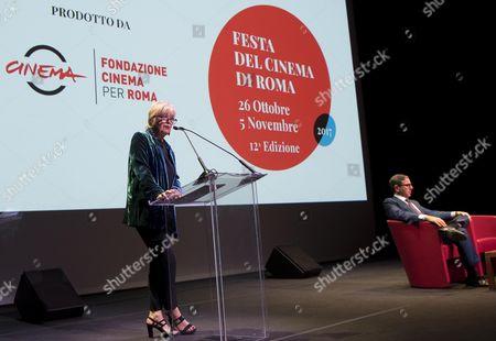 Antonio Monda and Piera Detassis