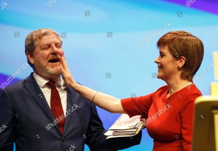 Editorial picture of Scottish National Party Conference 2017 in Glasgow, United Kingdom - 10 Oct 2017