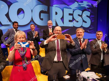 Editorial photo of Scottish National Party Conference 2017 in Glasgow, United Kingdom - 10 Oct 2017