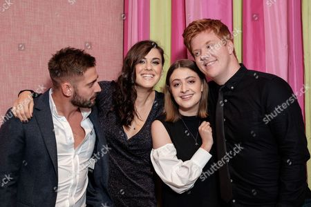 Editorial photo of 'Double Date' Premiere at The Soho Hotel, London, UK - 10 Oct 2017