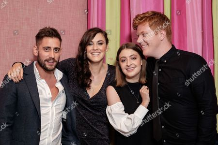 Editorial picture of 'Double Date' Premiere at The Soho Hotel, London, UK - 10 Oct 2017