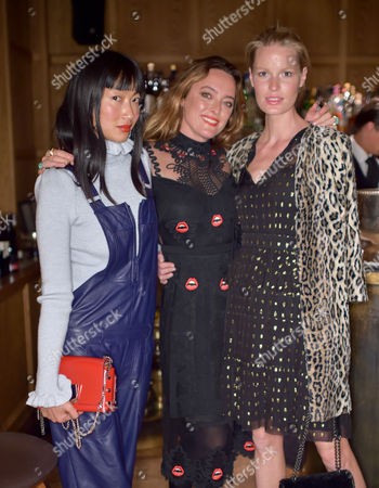 Mimi Xu, Alice Temperley and Caroline Winberg