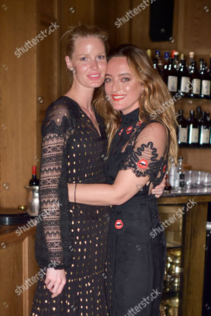 Caroline Winberg and Alice Temperley