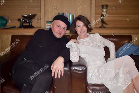 Sascha Lilic and Lauren Cuthbertson