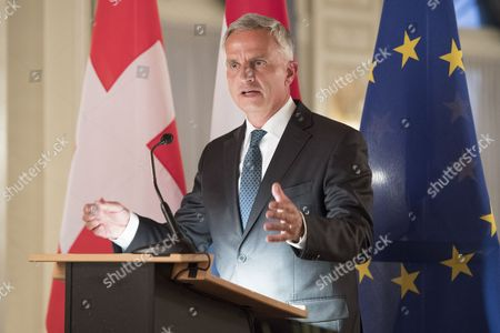 Editorial photo of Switzerland and Luxembourg celebration of the centenary of diplomatic relations, Bern - 10 Oct 2017