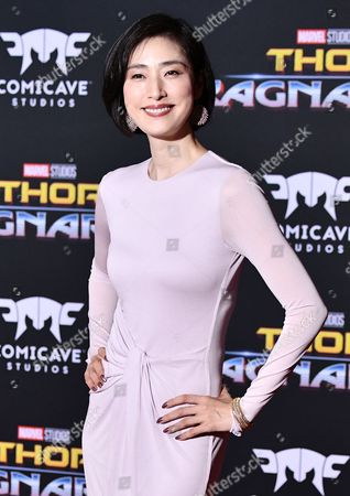 Editorial picture of 'Thor: Ragnarok' film premiere, Arrivals, Los Angeles, USA - 10 Oct 2017