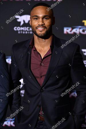 Editorial photo of 'Thor: Ragnarok' film premiere, Arrivals, Los Angeles, USA - 10 Oct 2017