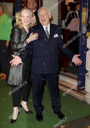 Mel Brooks and Susan Stroman