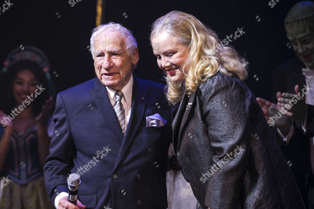 Editorial picture of 'Young Frankenstein' curtain, Press Night, London, UK - 10 Oct 2017