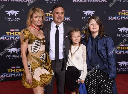 "Editorial image of World Premiere of ""Thor: Ragnarok"", Los Angeles, USA - 10 Oct 2017"