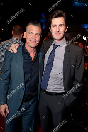 Josh Brolin and Joseph Kosinski, Director, at the red carpet screening of Columbia Pictures' ONLY THE BRAVE at Harkins Theatres Tempe Marketplace