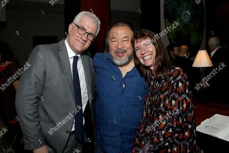 David Linde, Ai Weiwei (Director), Diane Weyermann