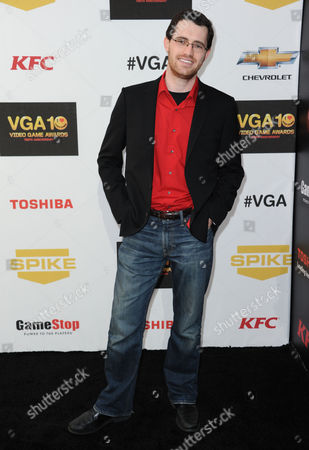 """Austin Wintory arrives at Spike's 10th Annual Video Game Awards at Sony Studios, in Culver City, Calif. Wintory's nomination for the artsy PlayStation 3 game """"Journey"""" marks the first time a game score has been nominated for a Grammy. Wintory is facing John Williams and his score for """"The Adventures Of Tintin"""" at the Feb. 10, 2013 ceremony, as well as the scores to """"The Artist"""" by Ludovic Bource, """"Hugo"""" by Howard Shore, """"The Dark Knight Rises"""" by Hans Zimmer and """"The Girl With The Dragon Tattoo"""" by Trent Reznor and Atticus Ross"""