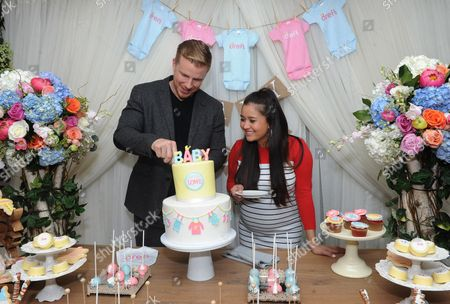 Reality TV couple Sean and Catherine Lowe celebrate their pregnancy at the Dreft 'Loads of Love'? baby shower, in New York. Visit Dreft.com and the brand's social channels for more information about the couple's parenting journey