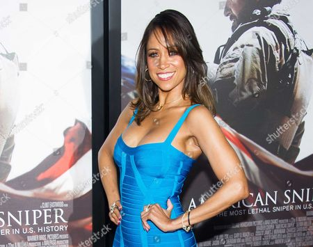 """Stacey Dash attends the """"American Sniper"""" premiere in New York. Dash wrote on her website that BET lies to its viewers and promotes segregation. The dispute stemmed from Dash's """"Fox & Friends"""" interview, when she was asked about the lack of black nominees for Academy Awards.The former """"Clueless"""" star said that people need to make up their minds between segregation and integration, """"and if we don't want segregation, then we need to get rid of channels like BET and the BET Awards and the (NAACP) Image Awards, where you're only rewarded if you're black"""