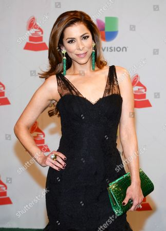 Lourdes Stephen arrives at the 15th annual Latin Grammy Awards in Las Vegas. Jomari Goyso and Carlos Calderon will join Stephen as hosts of Sal y Pimienta, replacing Rodner Figueroa, who was fired for comments he made about first lady Michelle Obama