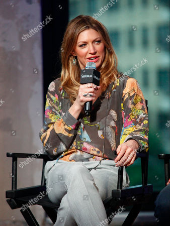 "Jes Macallan participates in AOL's BUILD Speaker Series to discuss the new ABC show, ""Mistresses"", at AOL Studios, in New York"