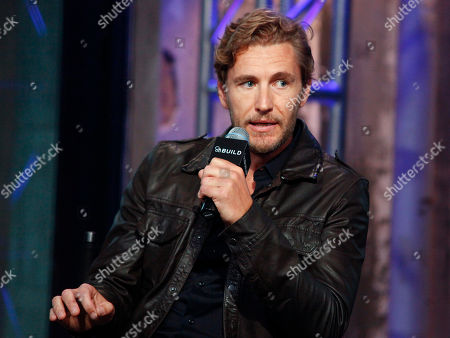 "Brett Tucker participates in AOL's BUILD Speaker Series to discuss the new ABC show, ""Mistresses"", at AOL Studios, in New York"