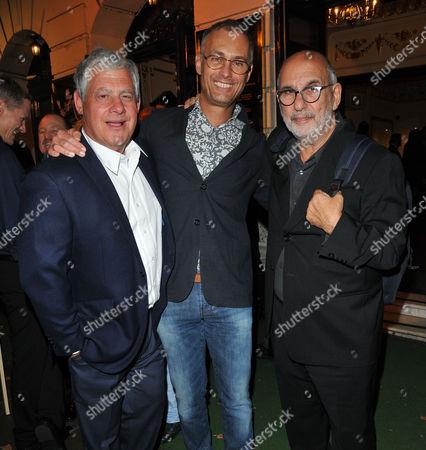 Sir Cameron Mackintosh, Michael Le Poer Trench and Alan Yentob