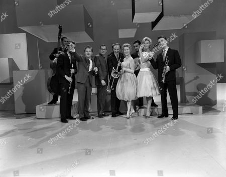 Bernard Delfont presents 'The Morecambe & Wise Show'  TV Transmission Pictures showing Morecambe & Wise, Chris Barber, Oterley Patterson and Janie Marden.