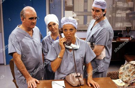 'Surgical Spirit'  TV - 1989 - David Conville, Marji Campi, Nichola McAuliffe,Emilyn Price.