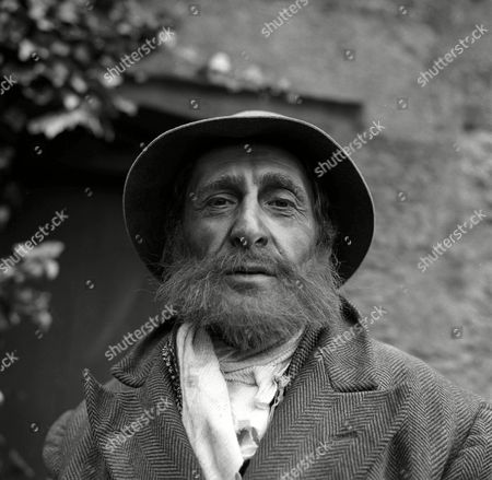 Stock Image of 'Tom Grattan's War'  TV 1968 - 1970 - Howard Goorney as the Tramp.