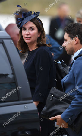 Editorial photo of Royal Tour Of Canada 2017 - William The Duke Of Cambridge Catherine Duchess Of Cambridge Prince George And Princess Charlotte Visit Canada Picture-mark Large 24.09.16 Members Of The Royal Tour Party Rebecca Deacon In Canada For The Royal Tour.