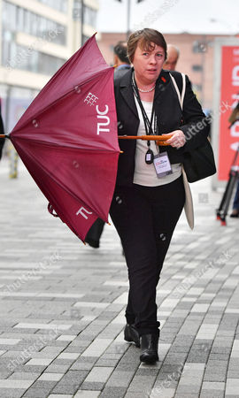 Maria Eagle - Labour Party Annual Conference At The Liverpool Exhibition Centre Merseyside.-Lobby- 26/9/16.