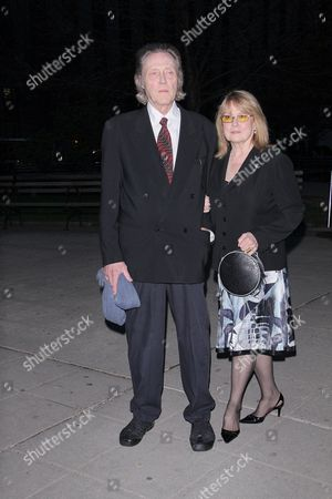 Stock Image of Christopher Walken and Georgianne Thon Walken