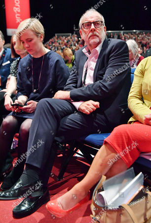 Lord Falconer And Stella Creasey (l).- Labour Party Annual Conference At The Liverpool Exhibition Centre Merseyside.-.