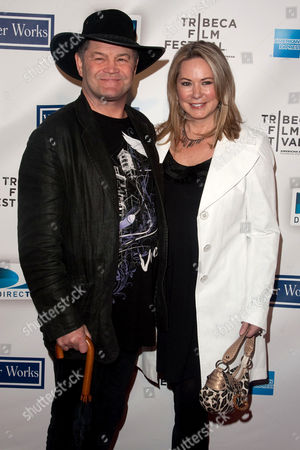 Micky Dolenz with wife Donna Quinter