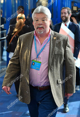 Simon Weston. Annual Conservative Party Conference At The Birmingham International Conference Centre. 3/10/16.