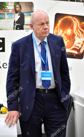 Damien Green Mp Attends The Annual Conservative Party Conference At The Birmingham International Conference Centre.