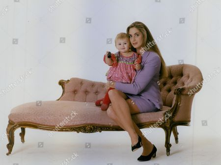 Model And Single Mother Jordana Cook With 13-month-old Daughter Tatiana Whose Father Is Marks & Spencer Heir Jonathan Sieff. Box 759 1025051775 A.jpg.