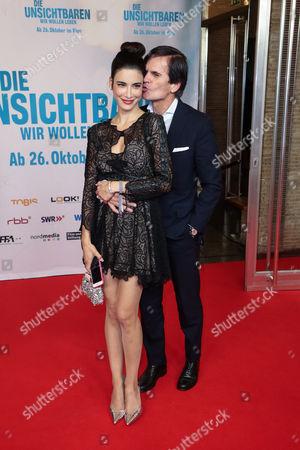 Stock Photo of Alexander Dibelius and Frau Laila Maria Witt