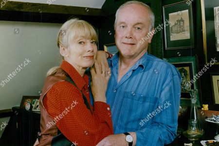 Actor Kenneth Cope With Wife Actress Renny Lister. Box 759 1025051769 A.jpg.