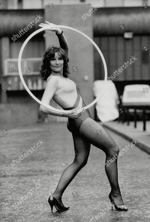 Stock Photo of Actress Adrienne Corri Promoting Physical 84 An Exhibition On Keeping Fit. Box 760 630051722 A.jpg.