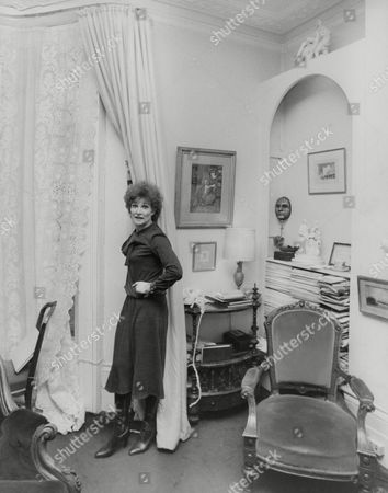Actress Adrienne Corri At Her Rented Georgian Home In St John's Wood London. Box 760 630051723 A.jpg.