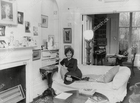 Actress Adrienne Corri At Her Rented Georgian Home In St John's Wood London. Box 760 930051722 A.jpg.