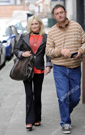 Caroline Aherne and Jeff Pope