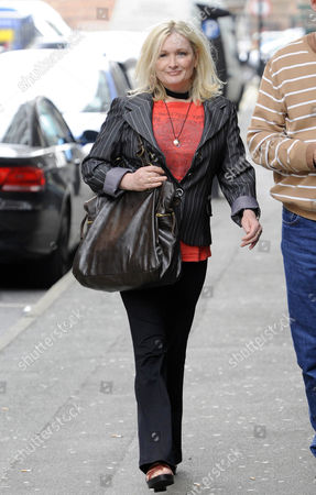Editorial picture of Caroline Aherne leaving the St John Street Hotel, Manchester, Britain - 23 Apr 2009