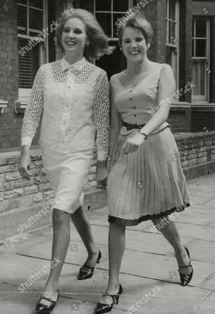 Elizabeth And Jenny Counsell Twin Actress Daughters Of John Counsell Who Runs The Repertory Theatre Royal At Windsor. Box 762 605061750 A.jpg.