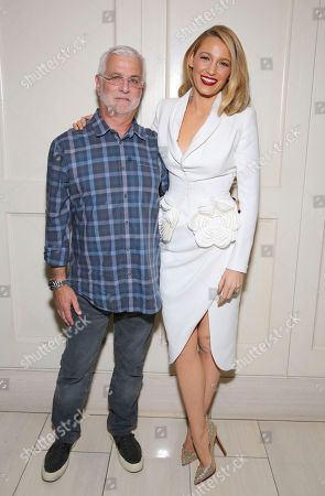 """Rob Friedman, Blake Lively. Rob Friedman, chairman/CEO of TMP Entertainment, and Blake Lively seen at the Open Road Films special screening of """"All I see Is You"""" at the London Hotel, in West Hollywood, Calif"""