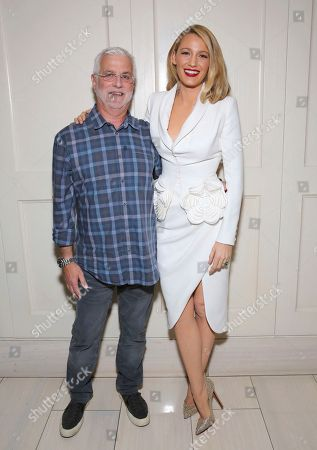 "Rob Friedman, Blake Lively. Rob Friedman, chairman/CEO of TMP Entertainment, and Blake Lively seen at the Open Road Films special screening of ""All I see Is You"" at the London Hotel, in West Hollywood, Calif"