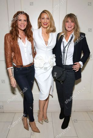 "Robyn Lively, Blake Lively, Elain Lively. Robyn Lively, Blake Lively and Elain Lively seen at the Open Road Films special screening of ""All I see Is You"" at the London Hotel, in West Hollywood, Calif"