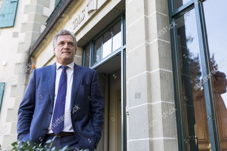 Editorial picture of Former FIFA Secretary General Jerome Valcke challenges his ten-year suspension, Lausanne, Switzerland - 11 Oct 2017