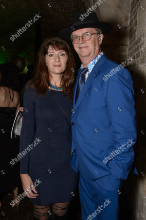 Paul Merton with his wife Suki Webster