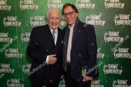 Mel Brooks and Don Black