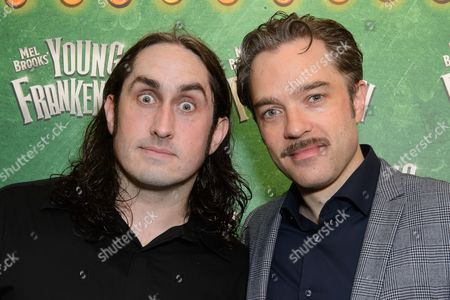 Ross Noble and Hadley Fraser