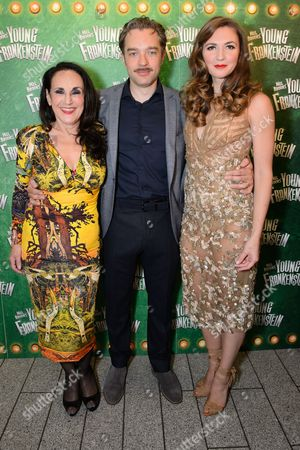 Lesley Joseph, Hadley Fraser and Summer Strallen